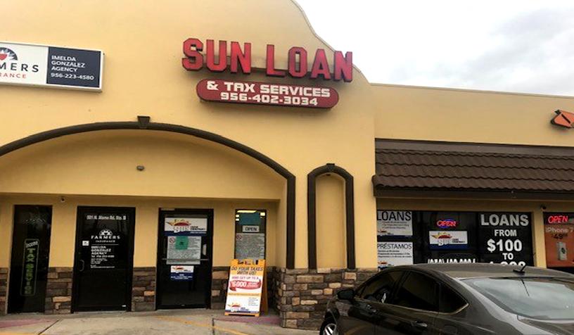 Sun Loan Company 501 N Alamo Rd Ste C Alamo Tx 78516 Yp Com