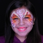 Paint 2 Smile. Happy butterfly face paiting