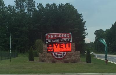 Paulding Building Supply & Ace Hardware - Dallas, GA. Entrance sign
