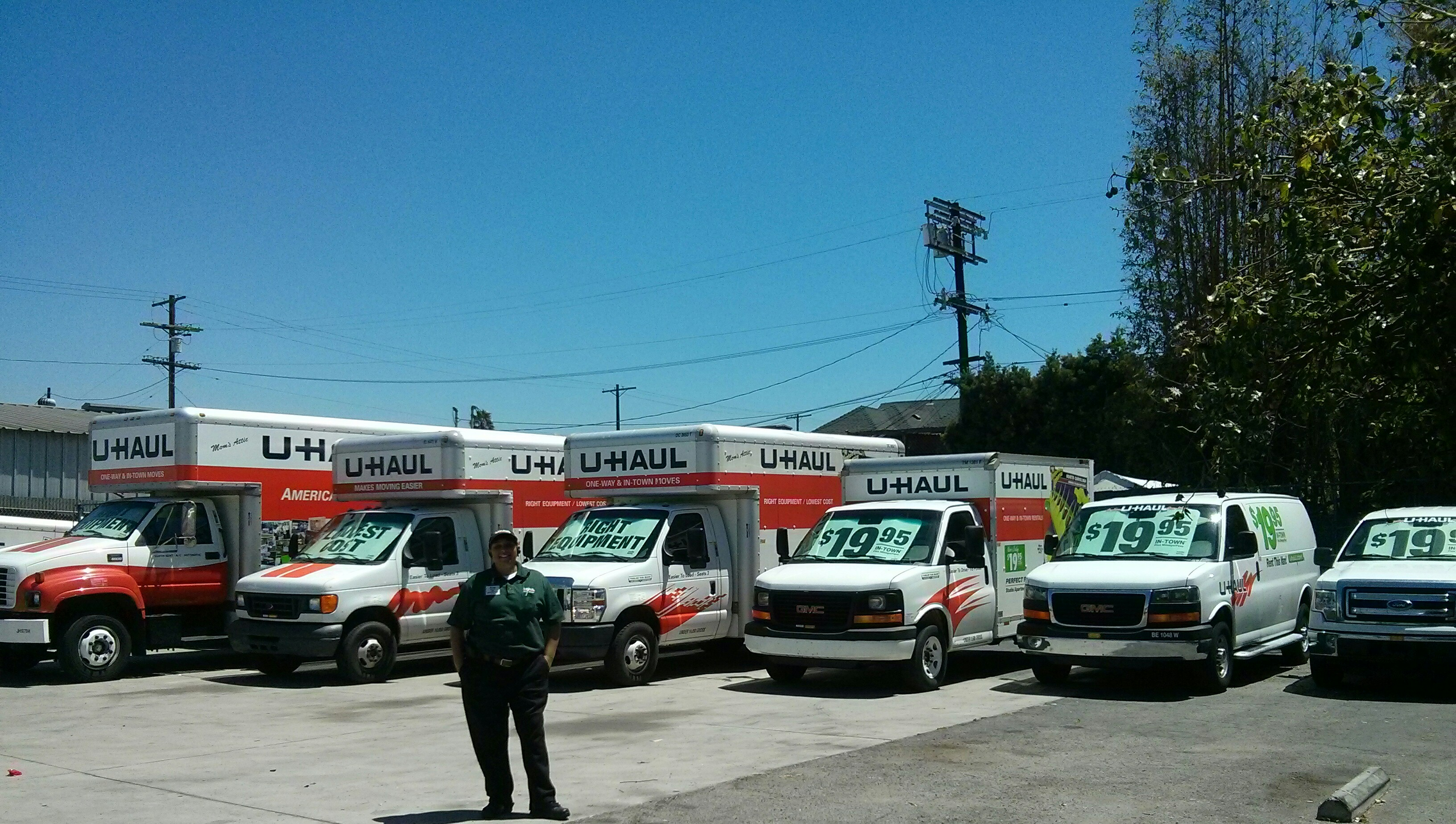 U Haul at Koreatown 1600 S Western Ave Los Angeles CA YP