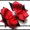 Ransom Letter Handmade Hair Bows