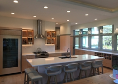 Romar Cabinet & Top Co Inc - Channahon, IL. Architect John Allegretti chose Romar Cabinet and Top Cabinets in this Michigan kitchen