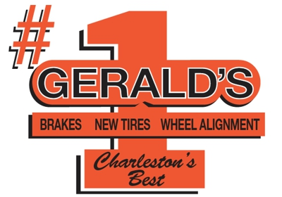 Geralds Tires and Brakes logo