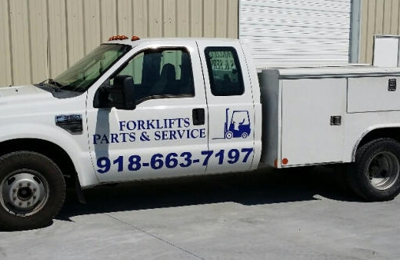 Forklift Parts and Service 305 N Redbud Ave, Broken Arrow, OK 74012
