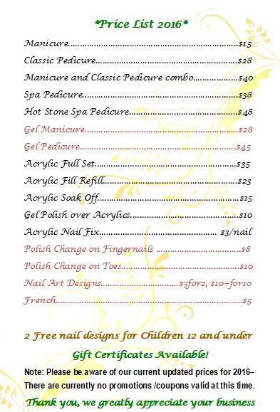Nail Designs By Lisa 326 S Broadway Unit S Salem Nh 03079 Yp