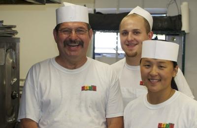 Ned's Pizza - Milwaukee, WI. My friend Rollie.