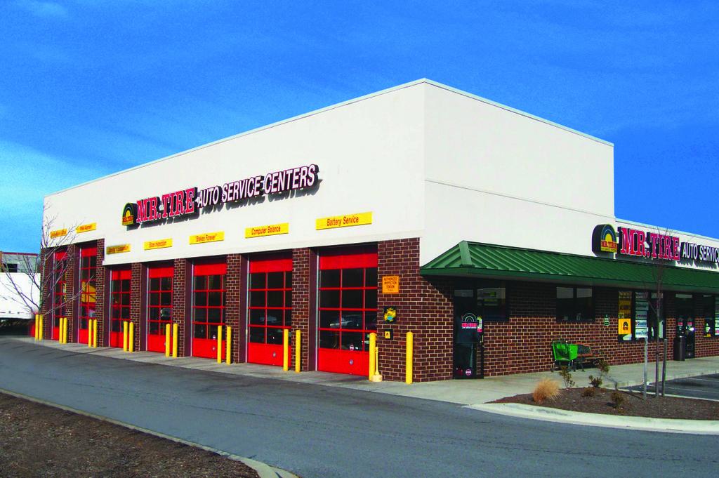 Mr Tire Auto Service Centers Locations
