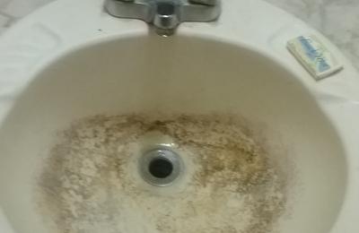 Budget Inn - Ravenel, SC. Sink