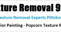 Popcorn Scraping Texture Removal - Siler City, NC