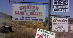 Crater Sand & Gravel Inc - Central Point, OR