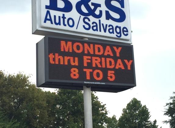 B & S Salvage - Columbus, MS