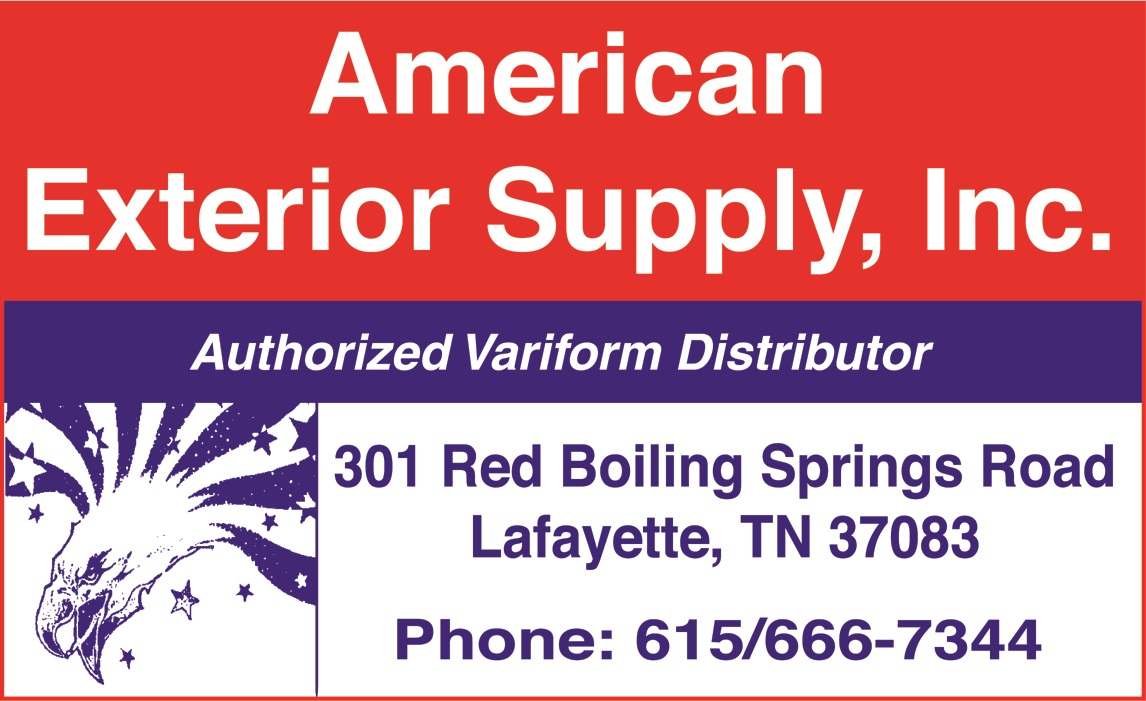 american exterior supply inc 301 red boiling springs rd lafayette