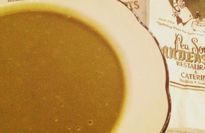 Andersen's Pea Soup Restaurant - Buellton, CA. Soup is served