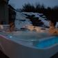 The Place - Medina, OH. Coast Infinity Edge Hot Tub