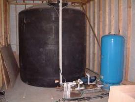 water pump storage tank sales