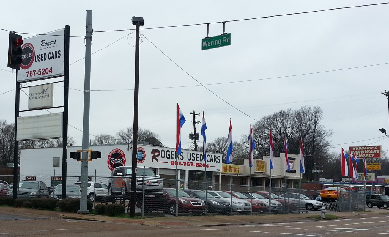 Used Cars Memphis Tn >> Rogers Used Cars 4329 Summer Ave Memphis Tn 38122 Yp Com