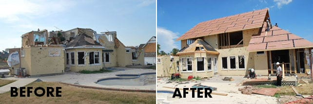 tornado before after