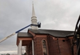 Sunlight Building Services. Steeple Cleaning Progressive Baptist Church Huntsville, AL