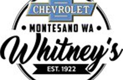 whitney s chevrolet 119 w pioneer ave montesano wa 98563 yp com whitney s chevrolet 119 w pioneer ave