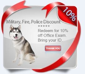 veterinary service coupon