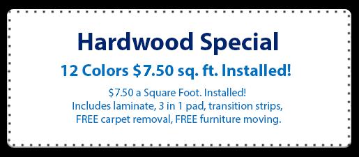 hardwood coupon
