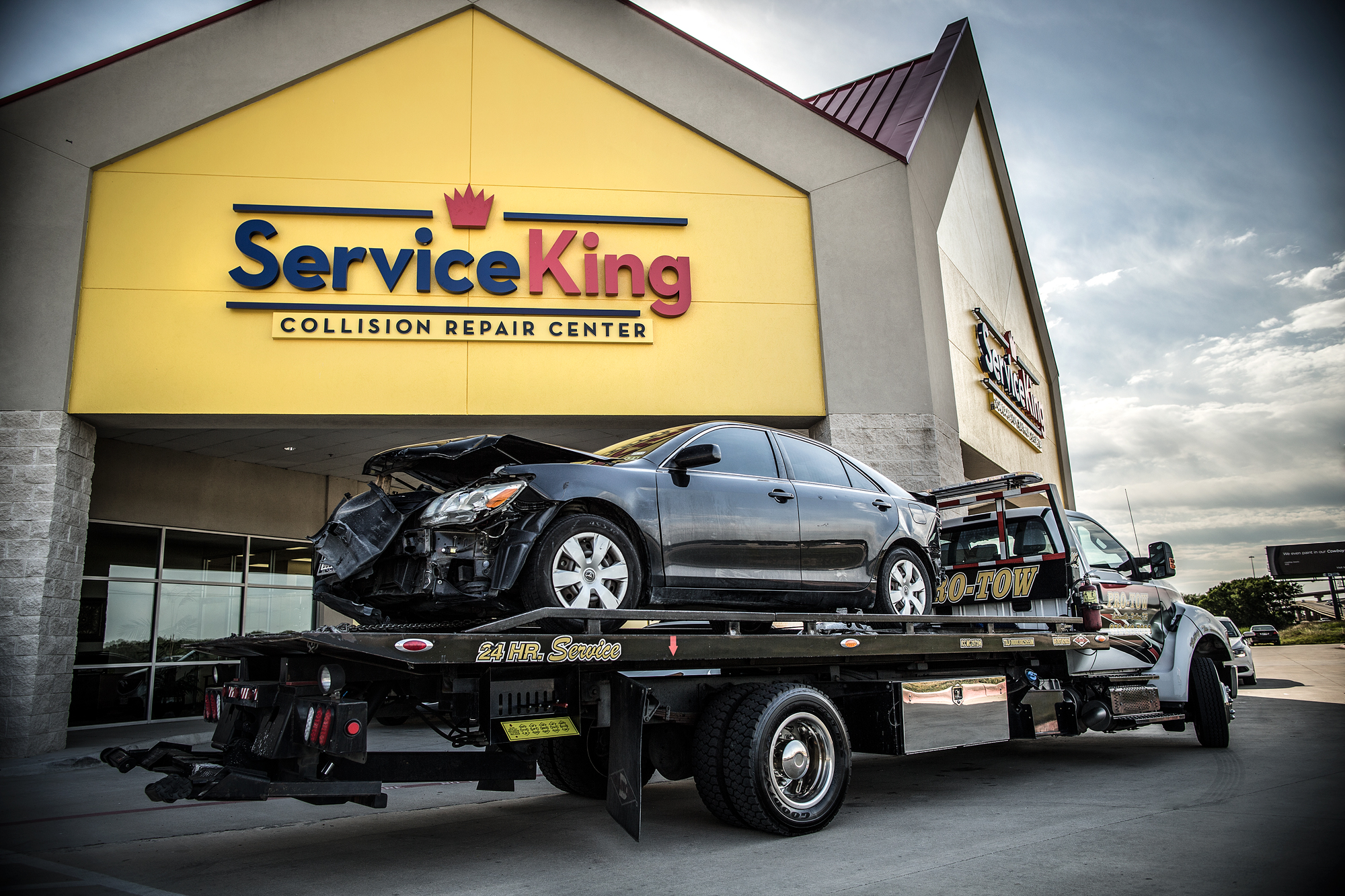 Collision Repair Center >> Service King Collision Repair Center 1815 N Moore Ave Moore Ok