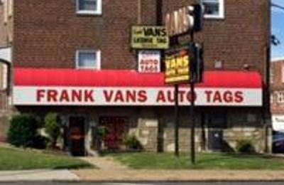 Frank Van's Auto Tags - Philadelphia, PA