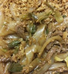 Hunan Delight - Salisbury, MD. The worse Mongolian beef ever