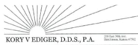 Kory V Ediger, D.D.S., PA - Your Dentist in Hutchinson KS