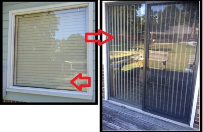 Moderno Glass & Mirror - Winston Salem, NC. Replaced Picture Window & Glass in Patio Door