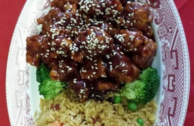 CHINA WOK - Umatilla, FL. Sesame chicken