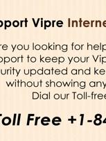 Vipre Internet security suppor