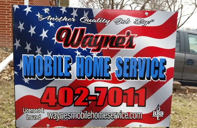 Wayne's Mobile Home Service - YP com