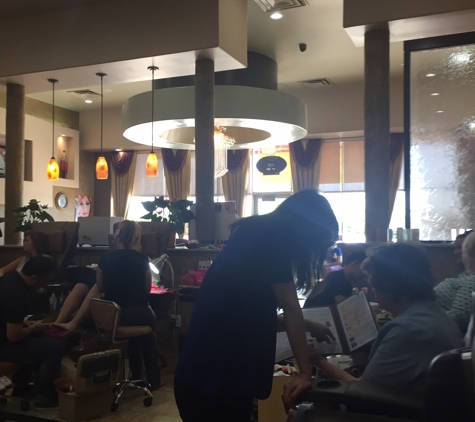 Upscale Spa & Nail - Granbury, TX. They recently got new massage chairs and they are AMAZING!!!