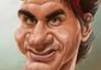 Balloons And More Fun - Chicago, IL. Caricature, Roger Federer