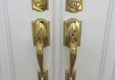Supreme Carpentry LLC - Homestead, FL. Newly installed front door lock sets in Coral Gables, Fl