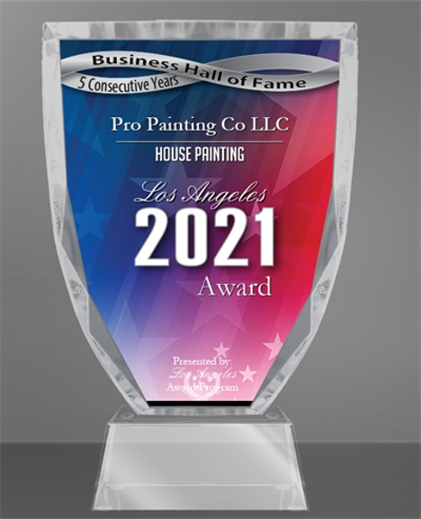 Pro Painting Co - Los Angeles, CA. Recognizing And Honoring The Best Of Business Painting Company