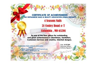 4 Seasons Nails - Columbia, MO