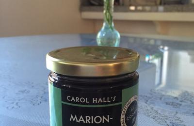 Carol Hall's Hot Pepper Jelly Co - Fort Bragg, CA. Marionberry Jam