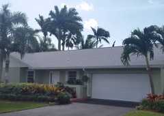 Roofer Mike Inc - Miami Springs, FL. GAF Timberline HD Dimensional Shingle Roof in Kendall, Fl