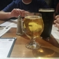 Lexington Avenue Brewery - Asheville, NC. Drinks with dinner