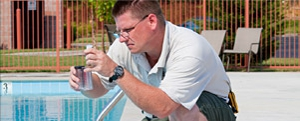 pool chemical cleaning