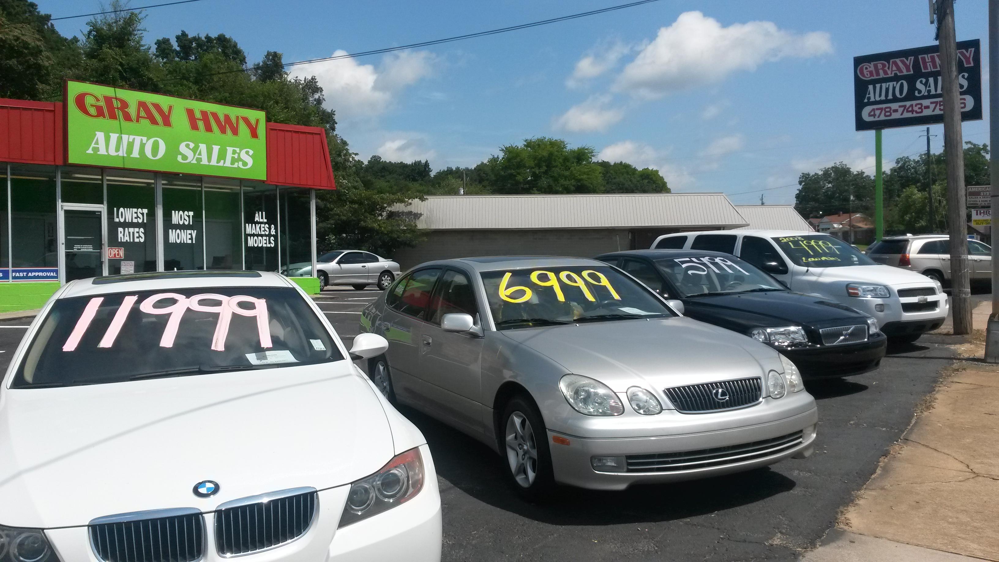 Gray Hwy Auto Sales 788 Gray Hwy Macon GA YP