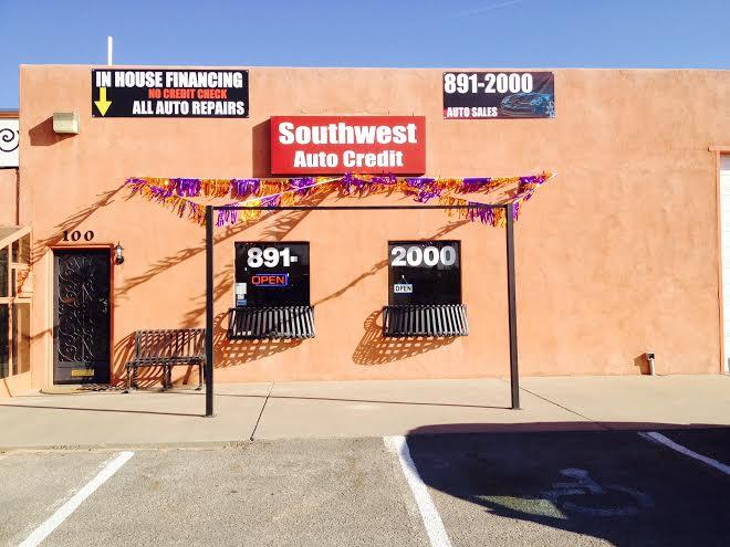 Southwest Auto Credit >> Southwest Auto Credit 100 A Frontage Rd Rio Rancho Nm