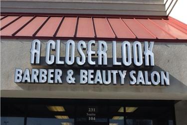 A Closer Look Barber Shop