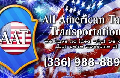 All American Taxi Transportation - Greensboro, NC
