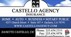 Castello Agency - Zachary, LA