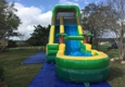 Bounce 4Fun Party Rentals. Palm 18ft Height water slide.  Can be used wet or dry.