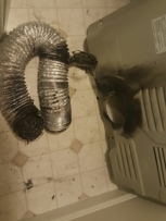 Lint and duct fire. Yearly Preventive maintenance required on your Appliance