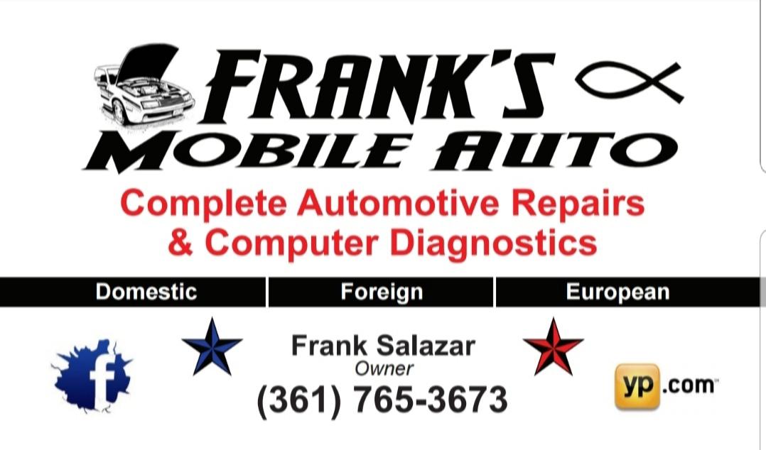 Frank S Mobile Auto Corpus Christi Tx 78408 Yp Com